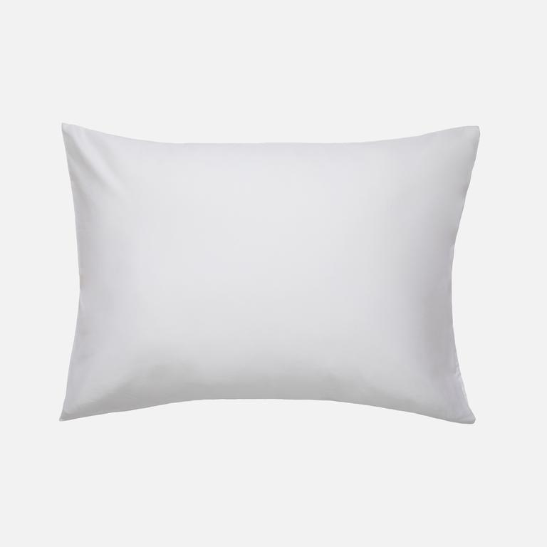 Luxe Pillowcases Solid White1
